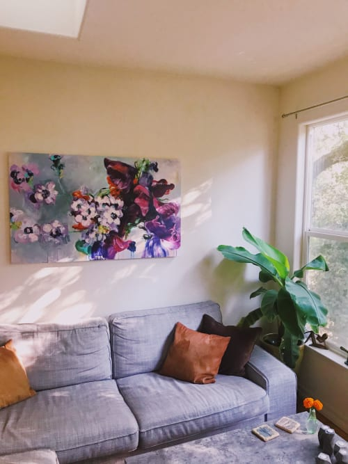 Paintings by Camille Selhorst seen at Private Residence, Healdsburg - Camille Selhorst
