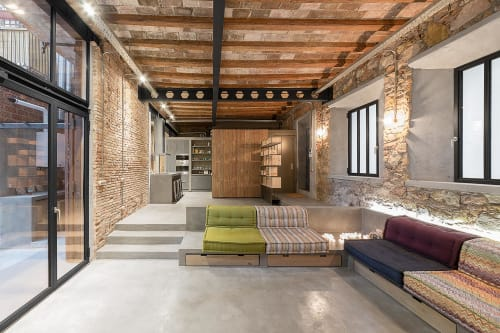 Interior Design by FFWD Arquitectes seen at Poble Sec, Barcelona - LOFT MDP Project