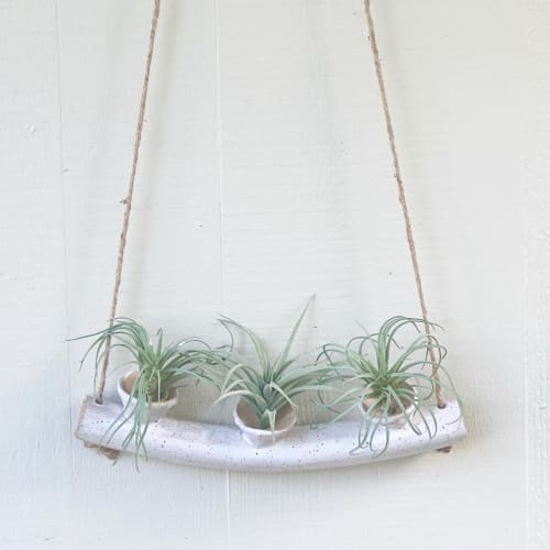 Vases & Vessels by Icky Love Pottery seen at Kaaawa Beach - Air Plant Candelabra