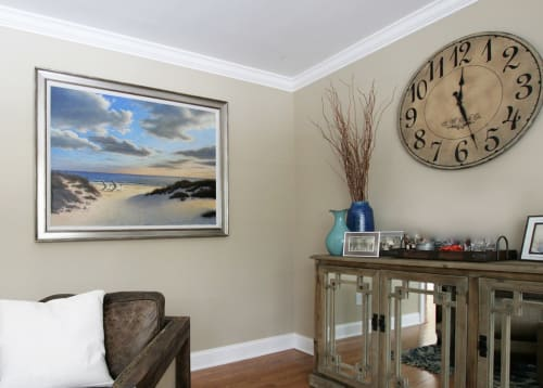 Paintings by Daniel Pollera seen at Private Residence, Stamford - Oil Painting