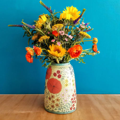 Vases & Vessels by Whitney Smith seen at Private Residence, Oakland - Wildflower Universe Vase