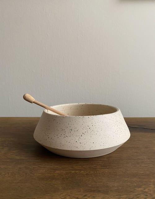 Ceramic Plates by Cóte García Ceramics seen at Private Residence, Brooklyn - Angular Bowl - Medium