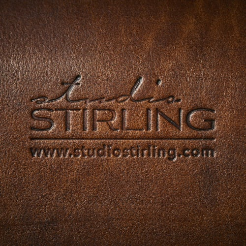 Chairs by Studio Stirling seen at Creator's Studio, Johannesburg - Sling Hanging Swing Chair - Thick Leather