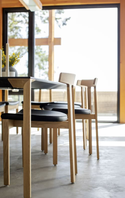 Chairs by Bensen seen at Private Residence, Salt Spring Island - Chairs