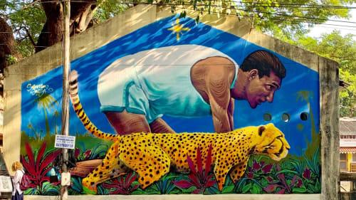 Solomon Souza - Street Murals and Public Art