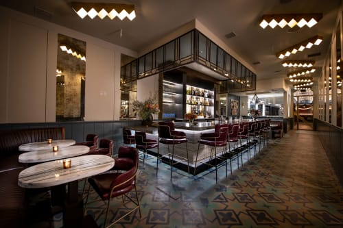 Interior Design by Deirdre Doherty Interiors - Simone Restaurant Arts District