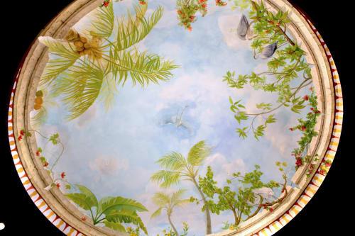 "Murals by Murals by Georgeta (Fondos) seen at Lauderhill, Lauderhill - ""The Florida Impressions Dome in Rotunda Mural"""