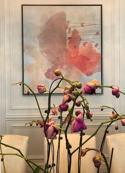 Paintings by Wendy Grace seen at Private Residence, Chicago - Veronica