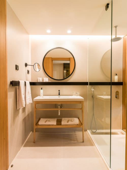 Water Fixtures by Porcelanosa seen at Protur Naisa Palma Hotel, Palma - Water Fixtures