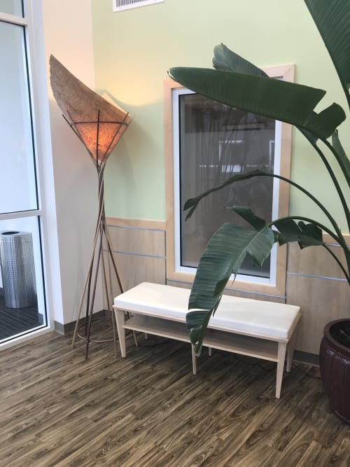Lighting by JShaw Furniture & Lighting Design seen at Taravista Behavioral Health, Devens - Prometheus Lamp