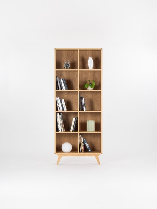 Furniture by Mo Woodwork at Stalowa Wola, Stalowa Wola - Bookcase, bookshelf, mid century modern, scandinavian, shelf