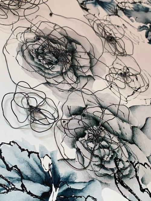 Work by X Wallflower seen at Maman, Brooklyn - Wallpaper Flower