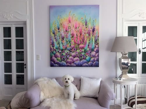 Paintings by Leanne Christie seen at Private Residence - Art painting
