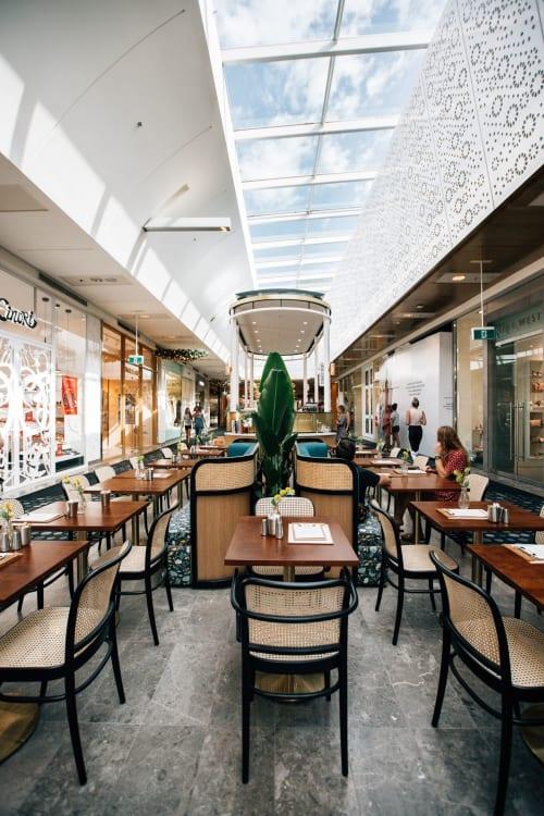 Interior Design by STEWART + HIGHFIELD seen at Westfield Kotara, Kotara - Lotus Express Kotara