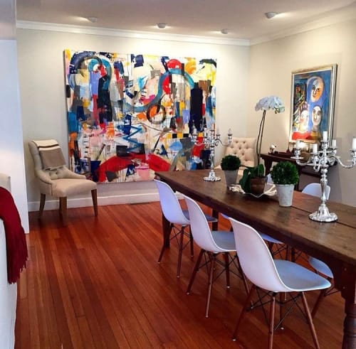 Paintings by Joseph Conrad-Ferm seen at Private Residence, Southampton - Painting