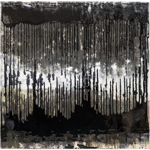 Paintings by Danette Landry seen at New York, New York - La Forêt  Noire