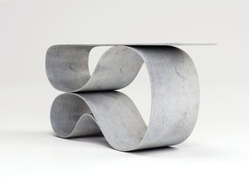 Tables by Neal Aronowitz seen at 1725 W 3rd Ave, Vancouver - Whorl Console
