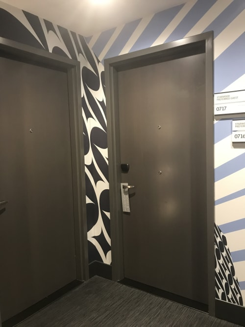 Art & Wall Decor by Almond Zigmund at Le Méridien Columbus, The Joseph, Columbus - Almond Zigmund, Patterned Planes