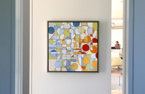 Paintings by Annie Darling seen at Private Residence, Freeport - Stadtplan