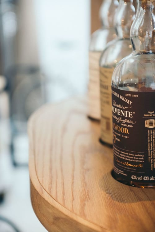Furniture by Roger&Sons seen at Roger&Sons, Singapore - A Liquor Cabinet for The Balvenie Connoisseurs of Craft
