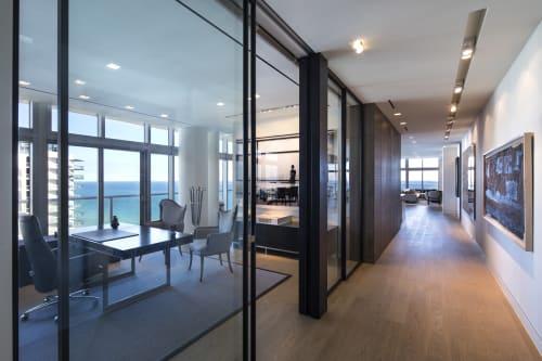 Interior Design by DUNAGAN DIVERIO DESIGN GROUP seen at Private Residence, Miami Beach - Miami Beach Penthouse