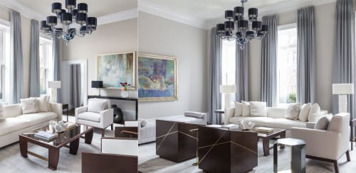 Lighting Design by VILLAVERDE London seen at Private Residence, Boston - TOWN HOUSE