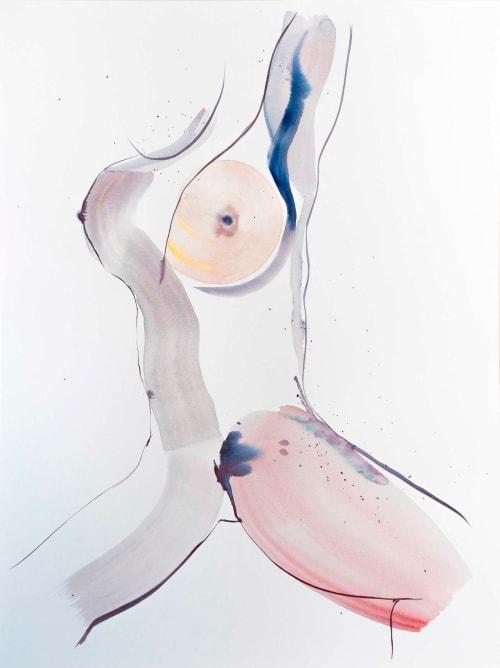 Paintings by Eve Devore seen at Creator's Studio, Brooklyn - Open VI
