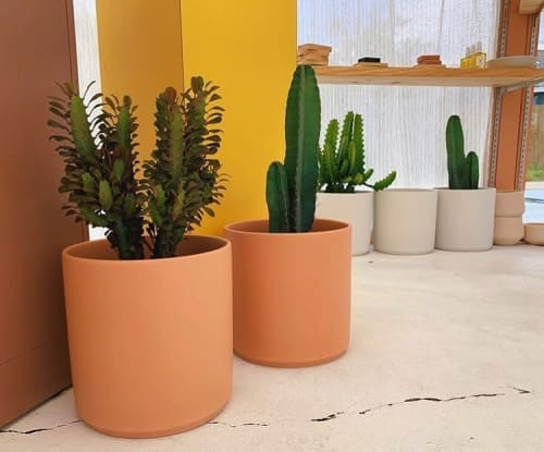 Vases & Vessels by LBE Design seen at Tropic Of Capricorn, Austin - Revival Ceramics Planters