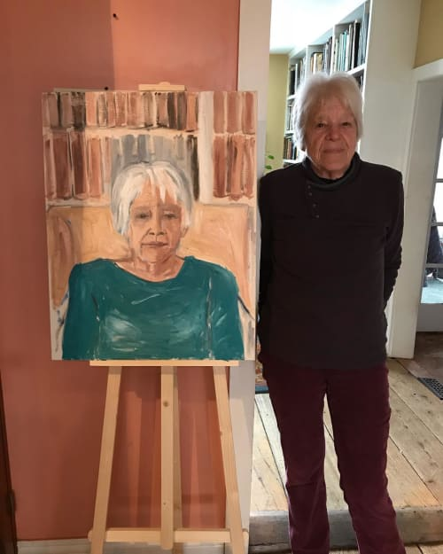 Paintings by Holly Miller seen at Private Residence, New York - Portrait Painting