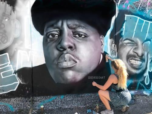 RoosArt Paintings - Street Murals and Public Art