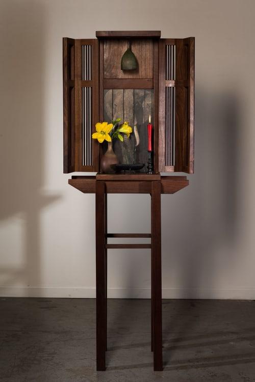 Furniture by Wendy Maruyama Studios seen at San Diego, San Diego - Bell Shrine