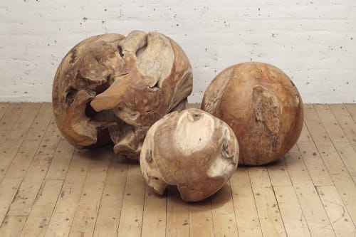 Sculptures by From the Source - Teak Root Ball Sculpture