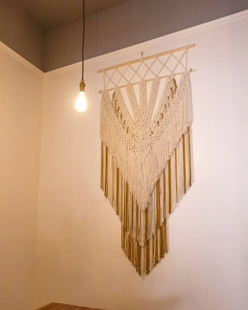 Macrame Wall Hanging by The Macrame Man seen at Copper & Straw, Bray - Magic