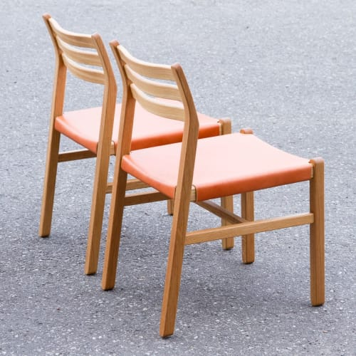 Chairs by Christopher Solar Design seen at Private Residence, Squamish - Gladstone Dining Chair