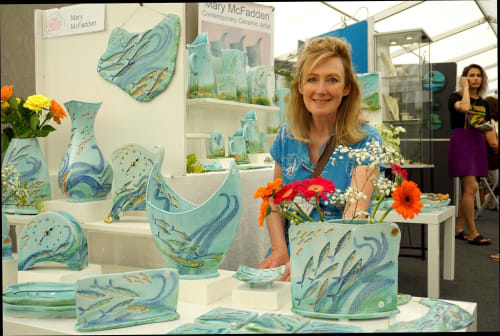Mary McFadden - Art and Planters & Vases