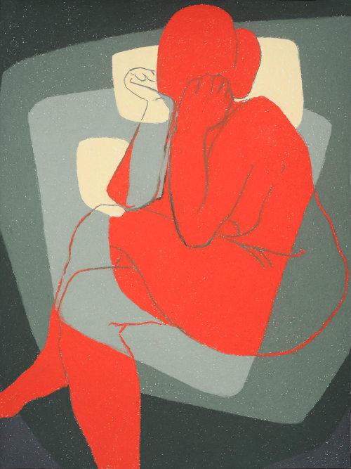 Paintings by Elvira Dayel seen at San Francisco, San Francisco - Full Figure