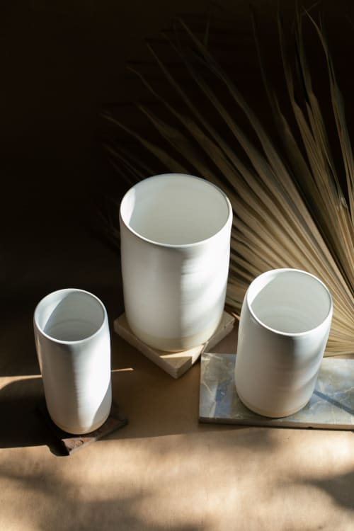 Vases & Vessels by Kay Ceramic and Design seen at Creator's Studio - Boho Cylinder