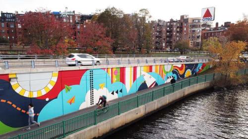 Silvia López Chavez - Murals and Street Murals