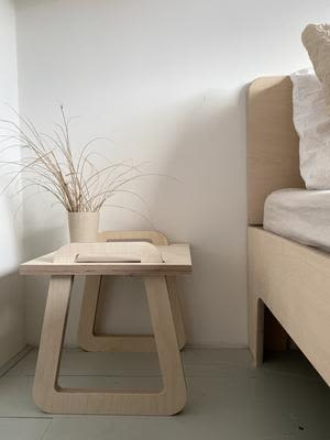 Tables by Loof seen at Tinta Luhrman (Woodchuck) Home, Monster - Side Table