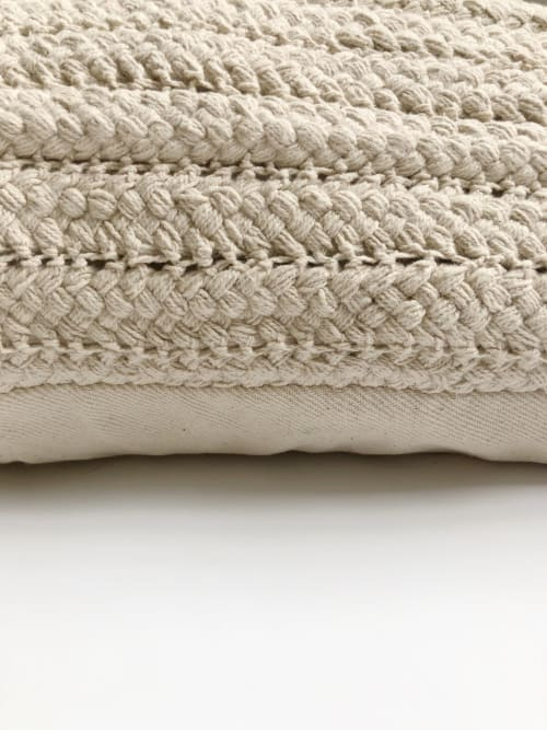 Pillows by Coastal Boho Studio seen at Creator's Studio, Destin - Hand Crafted Moroccan Bean Bag