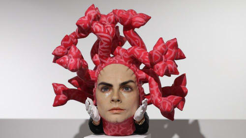 "Sculptures by ASPENCROW seen at London, London - ""Olympe"""