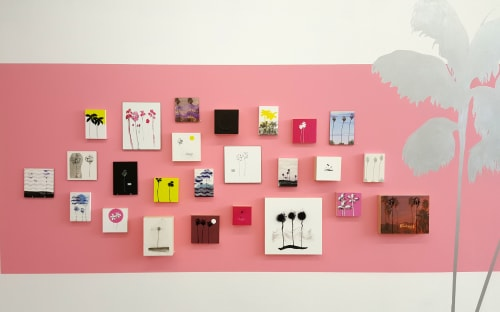 Paintings by Jillian Kay FitzMaurice seen at RULE Gallery, Denver - Exotic Escape