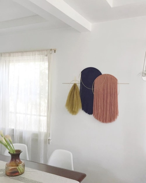 Wall Hangings by Attalie Dexter Home + Accessories at Private Residence, Los Angeles - Oversized Waveforms