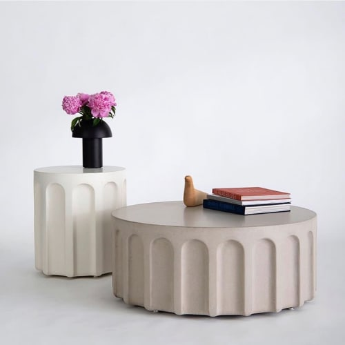 Tables by Concreteworks seen at Private Residence, San Francisco - Forum Tables