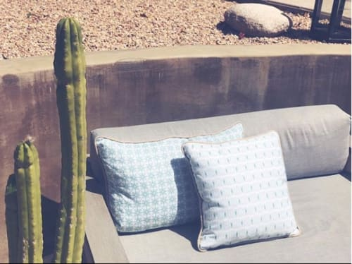 Pillows by Maple Jude & Co. seen at Santa Monica Canyon, Los Angeles - Stellar & Tribe Pillows