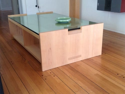 Tables by shapiro joyal studio seen at Private Residence, Palm Drive, Beverly Hills - April Coffee Table