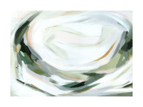 Paintings by Melanie Severin seen at Simply Modern Living, Grand Rapids - Abstract Laurel