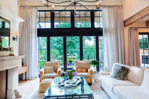 Curtains & Drapes by Blinds Couture seen at Private Residence, Greenwood Village - Custom Drapery
