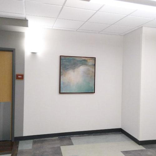Paintings by Lesley Frenz seen at Baptist Medical Center South, Jacksonville - Last September