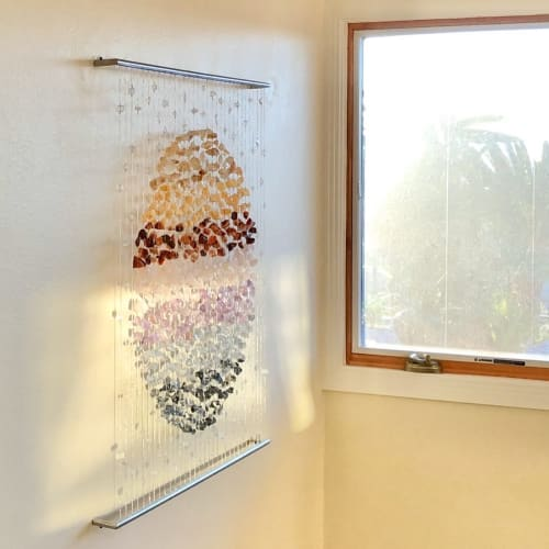 Wall Hangings by Carlie Stracka seen at Private Residence, San Diego - Sun Grounding
